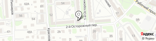 Высшая лига на карте Костромы
