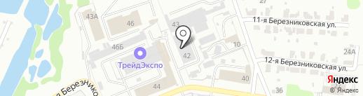 Веста на карте Иваново