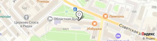 Военный комиссариат Костромской области на карте Костромы