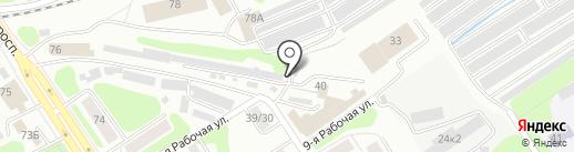 Стандарт на карте Костромы