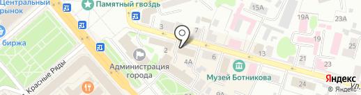 WALLABIA на карте Костромы
