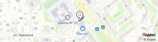 Конфетная лавка на карте Костромы