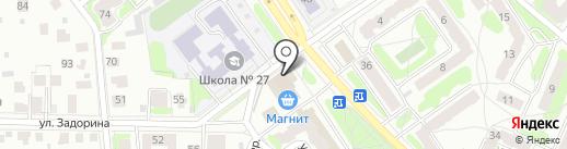 Ломбард АрмаДа на карте Костромы