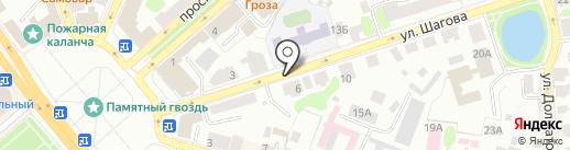 Наш дом на карте Костромы