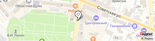 Детская музыкальная школа №8 на карте Костромы