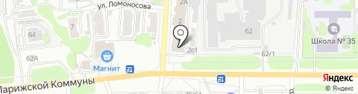 Неострой на карте Иваново