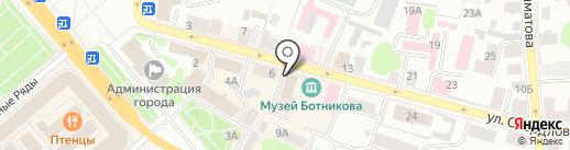 МИРТ-МРТ на карте Костромы