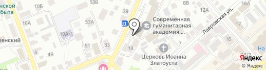 Государственная инспекция труда в Костромской области на карте Костромы