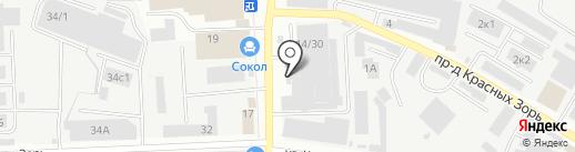 Роникон на карте Иваново