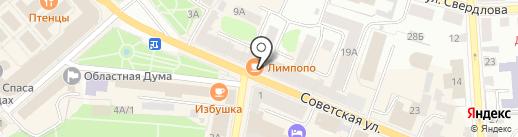 Ломбард КапиталЪ на карте Костромы