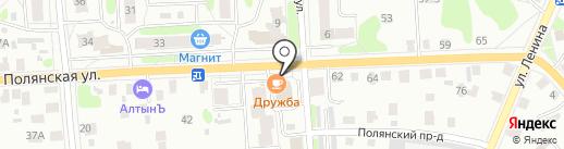 Азалия на карте Костромы