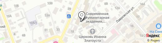 Территория S.M.A.R.T на карте Костромы