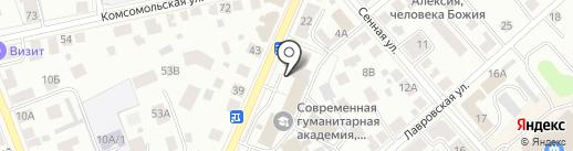 Управление региональной безопасности Костромской области на карте Костромы