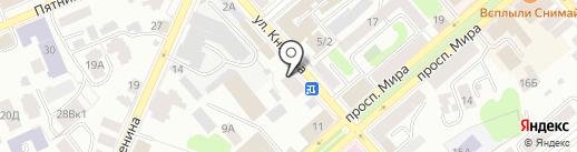 SIM сервис на карте Костромы