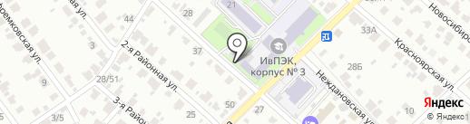 Профессиональное училище №8 на карте Иваново