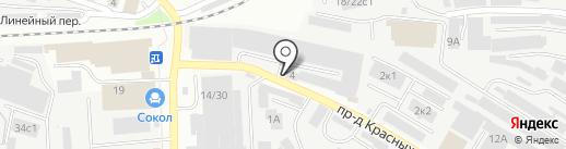 ДИАГОНАЛЬ на карте Иваново