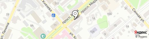 Триколор ТВ на карте Костромы