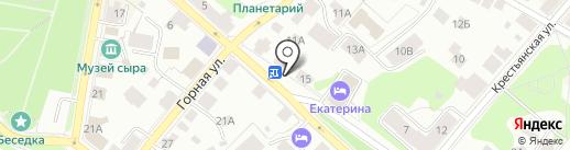 Магазин автозапчастей для иномарок на карте Костромы