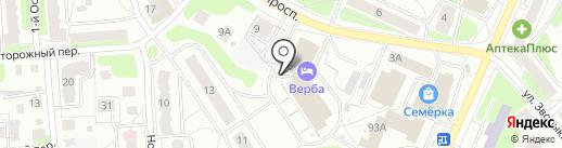 Отдел Военного комиссариата Костромской области по г. Костроме на карте Костромы