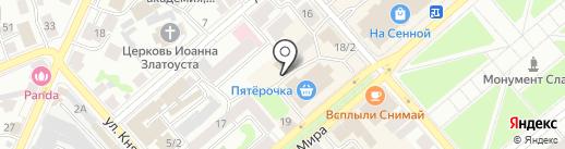Ювелирпромторг на карте Костромы