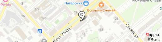 Пробки на карте Костромы