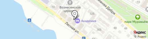 Союз на карте Костромы