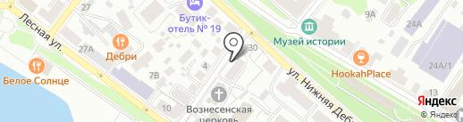 Маг на карте Костромы