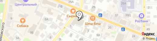 Пари-Матч на карте Костромы