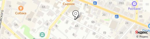 РАТИСС на карте Костромы