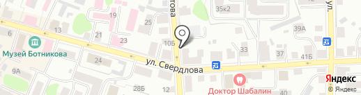 Адвокатский кабинет Смирнова А.В. и Смирновой М.М. на карте Костромы