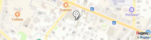 Транспортная фирма на карте Костромы