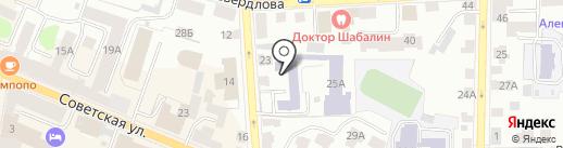 Dелеон на карте Костромы