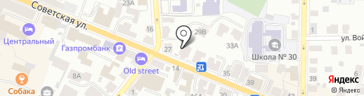 МК Шолк на карте Костромы