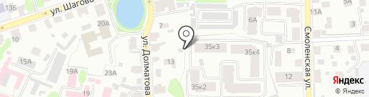 Градстрой на карте Костромы