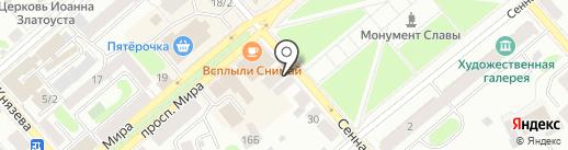 ДОМРОЗ на карте Костромы