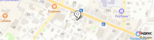 Право и Защита на карте Костромы