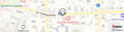 Либерально-демократическая партия России на карте Костромы