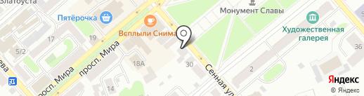 Портал на карте Костромы
