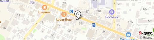 Хома на карте Костромы