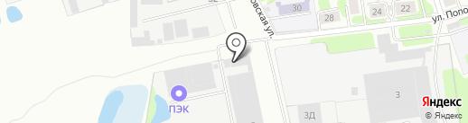 Господарочка на карте Иваново