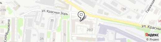 ДИВА тур на карте Иваново