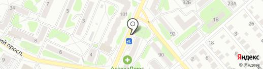Мой до дыр на карте Костромы