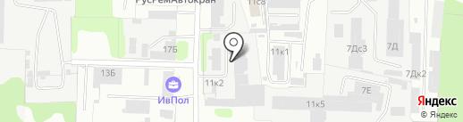 Технология на карте Иваново