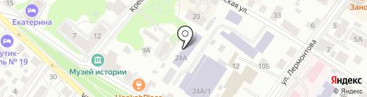Костромской государственный университет на карте Костромы