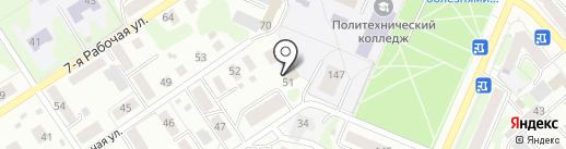 КСК-Комплекс на карте Костромы