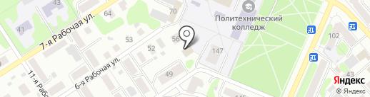 CтройТаунхаус на карте Костромы