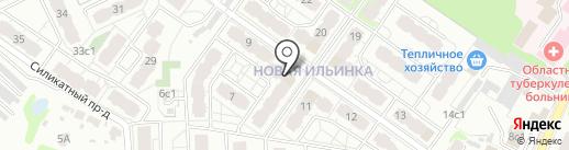 Ильинка Спорт на карте Иваново