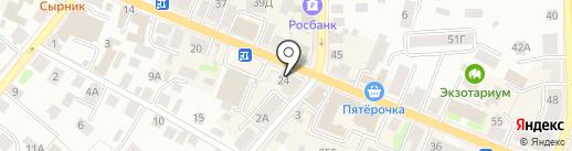 Мегаполис на карте Костромы