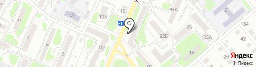 Разминка на карте Костромы