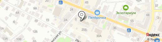 НеЯблоко на карте Костромы